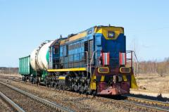 Repair of a railway transportation and rolling