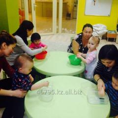 Group together with mother from 0,8 to 2kh years.