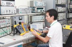 Checking of measuring instruments