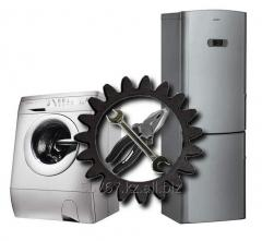 Repair of home appliances