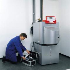 Repair of heating boilers