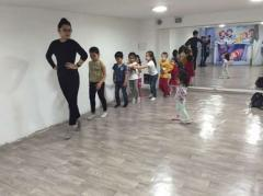 Choreography for children in Astana