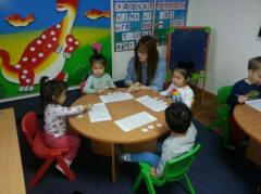 Younger group, Private kindergarten