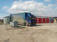 Хранение грузов на складах