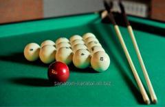Billiards in a hotel