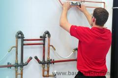 Services of the plumber