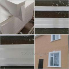 Изготовление фасадного декора из пенопласта