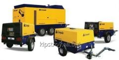 Rental of compressors