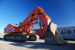 Execution of assembly work of excavators