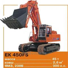 Repair of excavators