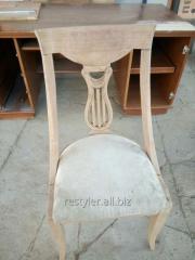 Repair of furniture made of natural wood
