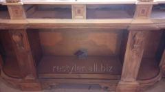 Реставрация элементов антивкварной мебели