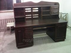 Реставрация элементов деревянной декоративной мебели