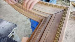 Реставрация элементов эксклюзивной деревянной мебели