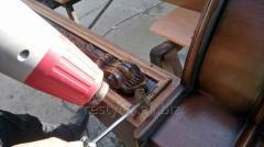 Реставрация элементов эксклюзивной декоративной мебели