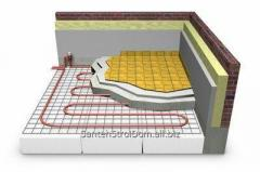 Thermal insulation of floor