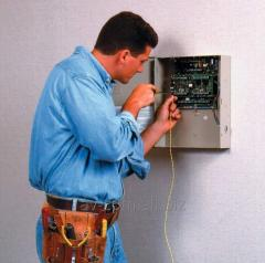 Installation and adjustment of the systems of