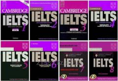 Preparation for language examination of IELTS