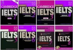 Preparation for language examination of IELTS