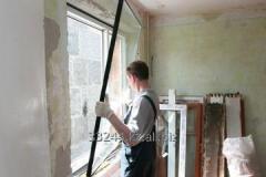 Installation of double-glazed windows