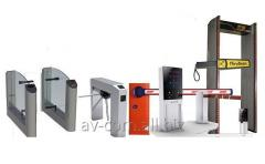 Installation of access control systems (barriers,