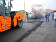 Reconstruction of roads
