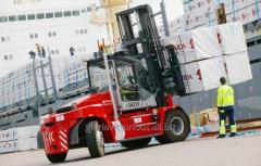 Hire of forklifts