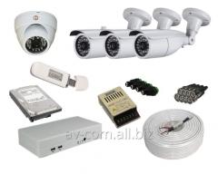 Design and installation of video surveillance