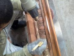 Repair of furniture