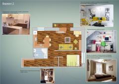 Дизайн-проект квартир/бутиков с 3D-визуализацией