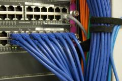 Installation of the VOLS networks and cable TV