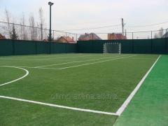 Устройство площадок спортивных