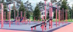 Строительство и оборудование уличной спортивной площадки