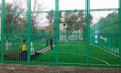 Services on construction of sport fields coatings