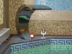 Finishing of the pool