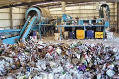Services of the utilization of waste products