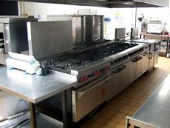 Repair of equipment for hotels