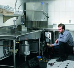 Maintenance and repair of equipment for caterers,