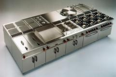 Repair of equipment for caterers, cafes,