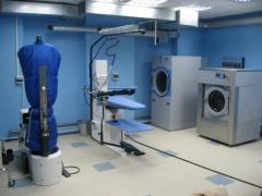 Installation of equipment for dry-cleaners
