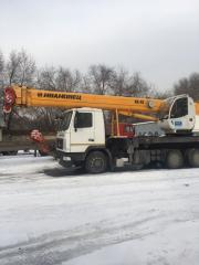 Services of the truck crane Resident of Ivanov