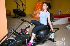Cardioexercise bike (Bollbayk)