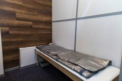 Blanket sauna