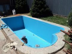 Heat insulation of pool