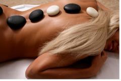 Stounterapiya with stones