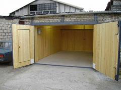Монтаж бетонного пола в гараж