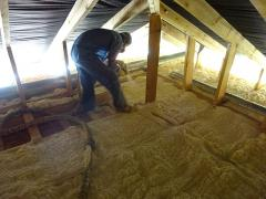 Insulation of roofing