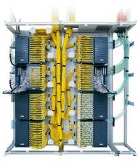 Construction of fiber-optic data transmission