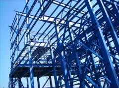 Монтаж и установка металлоконструкций