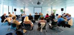 Услуги по организации международных мероприятий, форумов и конференций